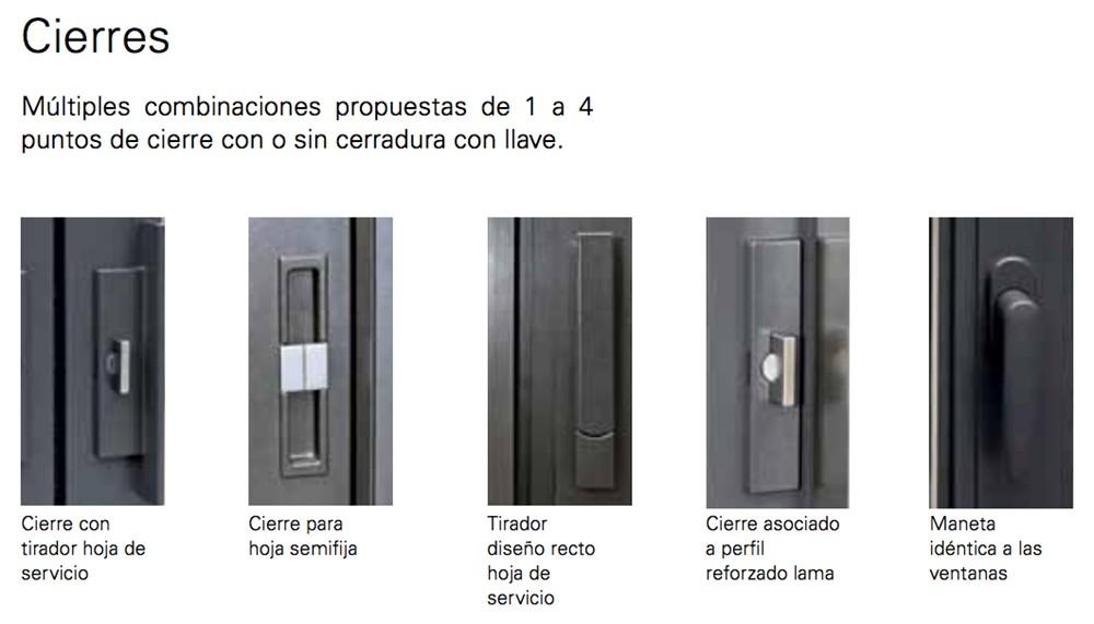 Manetas para puertas de aluminio finest juego de manillas zeus with manetas para puertas de - Picaporte puerta aluminio ...