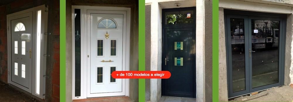 Las puertas de entrada en aluminio ventanas de aluminio for Puerta entrada aluminio