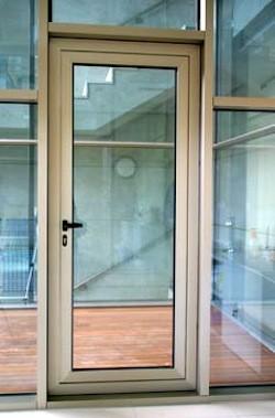 Precio puerta entrada aislante y econ mica ventanas de for Puertas de aluminio precios online