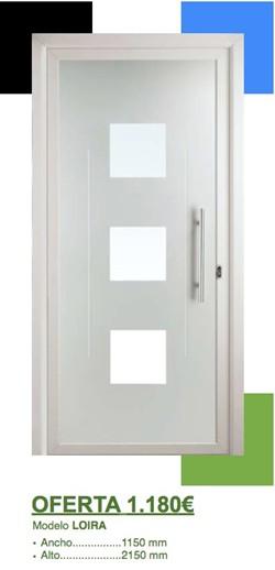 Precio puerta entrada aislante y econmica Ventanas de aluminio