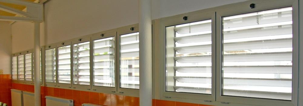 Tipos de carpinter a de aluminio carpinter a aluminio for Tipos de ventanas de aluminio para banos